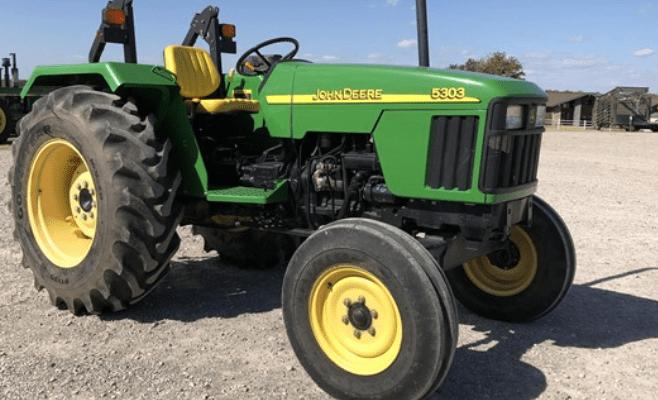 John Deere 5303 tractor 5003 series
