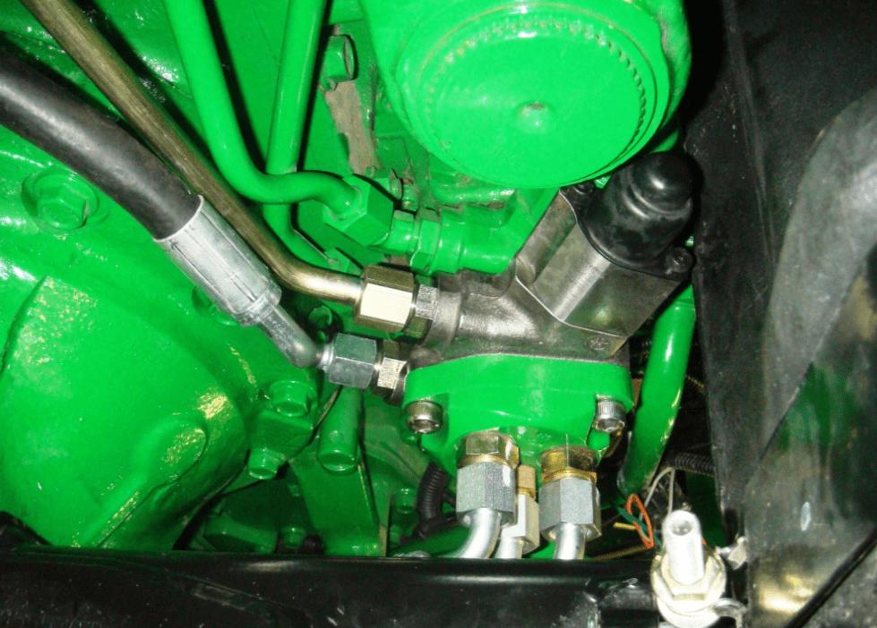 John Deere 5303 hydraulic