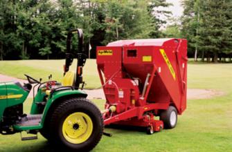 AgriMetal Tuff Vac 4000 Lawn Leaf and Debris Vacuum PTO 1
